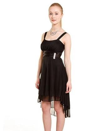 AHA-Fashion Girls Dress Black Black