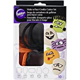 Wilton 2304-1225 Halloween Make-A-Face Cookie Cutter and Stamp Set
