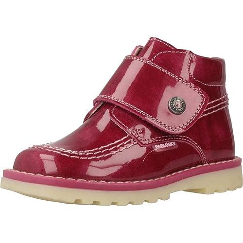 a44b196ca PABLOSKY 038479 Bota DE Charol con Velcro Piso Kickers  Amazon.es  Zapatos  y complementos