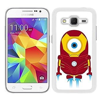 watch a2853 43db1 Case for Samsung Galaxy Core Prime Design Minion Iron: Amazon.co.uk ...