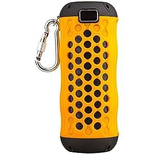 Portable Bluetooth Speaker,KINGEAR Fibk RJ76 Outdoor Waterproof Floating Bluetooth Speaker with Built In Microphone (Blue)