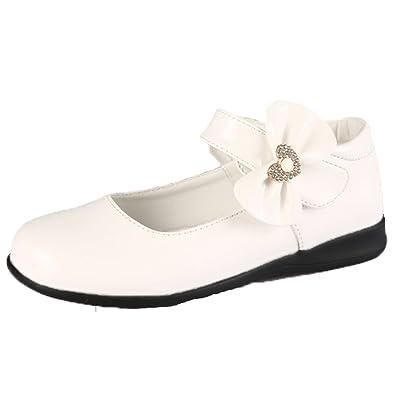 3221b1ebe611b OPSUN Ballerines à bride Enfants Filles Chaussure de Princesse Cérémonie  Mariage Escarpin Babies  Amazon.fr  Chaussures et Sacs