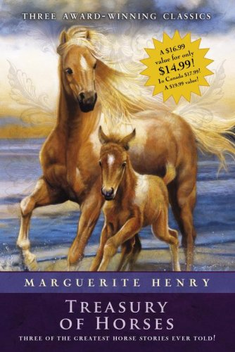 Marguerite Henry Treasury of Horses (Boxed Set): Misty of Chincoteague, Justin Morgan Had a Horse, King of the Wind