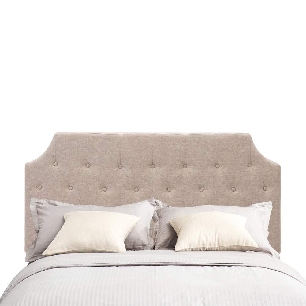 Amazon Com Andeworld Upholstered Linen Headboard Queen Full Size