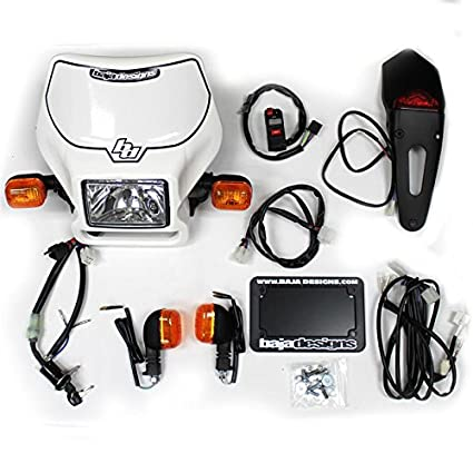 Amazon.com: Baja Designs Dual Sport Halogen Headlight Kit ... on