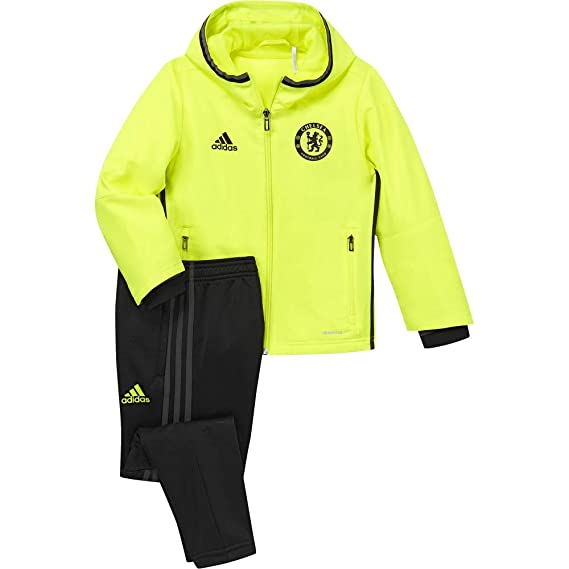 adidas Chelsea Pre Suit in – Trainingshose – gelbschwarz