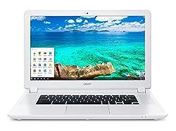 Acer Chromebook 15 CB5-571-58HF (15.6-Inch Full HD, Intel Core i3, 4GB, 32GB SSD)(Certified Refurbished)