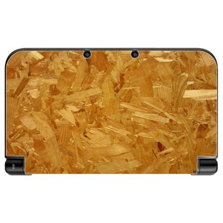 Chipboard Chip Wood Pressboard Background New 3DS XL 2015 Vinyl Decal Sticker Skin by Moonlight Printing (Home Chipboard)