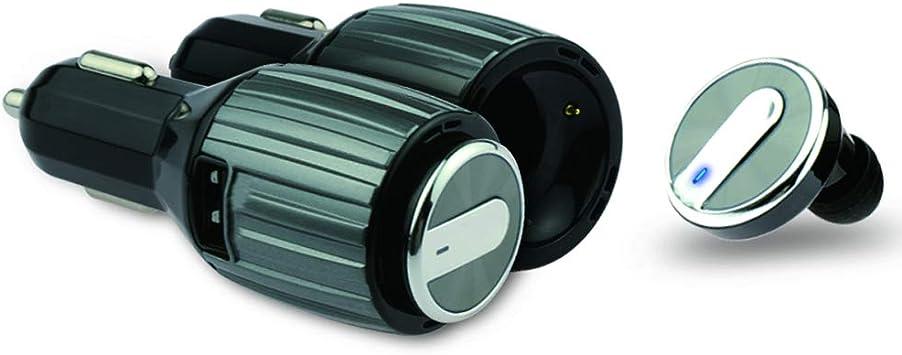 Akai Auricular Bluetooth BTH41 y Cargador de Coche USB para Smartphone: Amazon.es: Electrónica