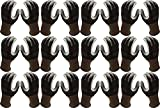 Atlas Fit 370 Showa Black Small Nitrile Gardening Thin Work Gloves, 12-Pairs