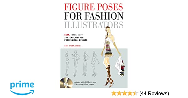 figure poses for fashion illustrators scan trace copy 250