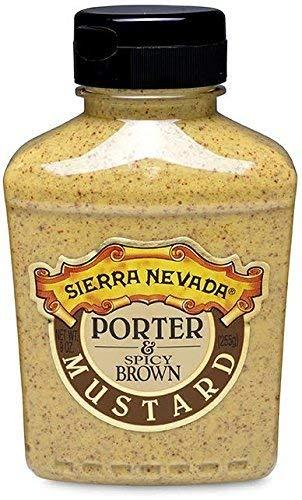 Sierra Nevada Porter & Spicy Brown Mustard, 9 oz Sqz (6 Pack)
