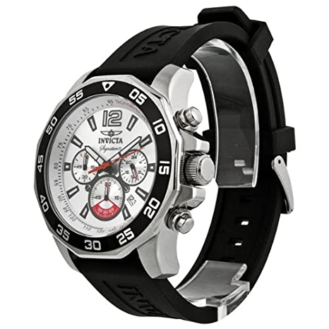 Amazon.com: Invicta Signature II Nautical Chronograph Silver Dial Mens Watch 7430: Invicta: Watches