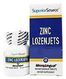 Superior Source – Zinc Lozenjets Instant Dissolve – 60 Tablets Review