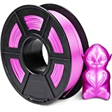CC DIY Silk PLA 3D Printer Filament 1kg Spool 1.75 mm Suits Most 3D Printers Tevo Tarantuala CR10 Mendel Prusa and More (Purple)