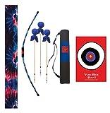 Two Bros Bows Blue Tie-Dye Archery Combo Set