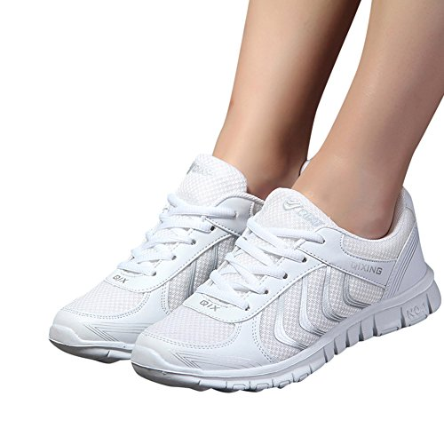 jiasha Women Running Shoes Lightweight Breathable Mesh Athletic Sneakers (Female Running Sneakers)
