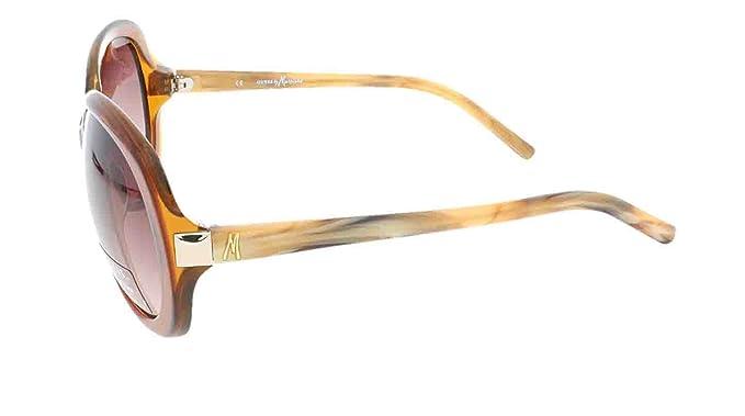 aab037767b3 Amazon.com  GUESS by MARCIANO GM 620 CYBRN-34 Ladies Designer Sunglasses +  Case