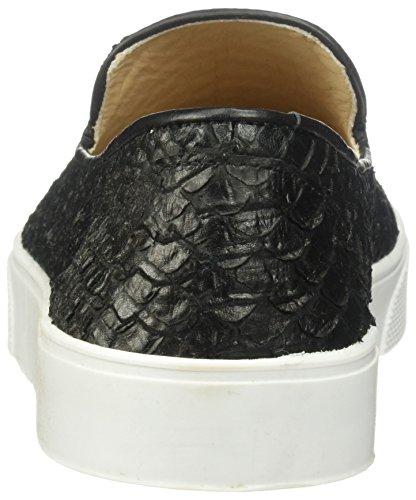 KAANAS Loafer Black Embossed Cameroon Women's Sneaker gxAHFgwqr