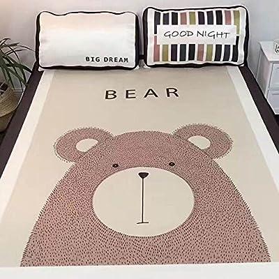 """Abreeze Summer Sleeping Mat Cooling Mattress Pad Cartoon Design Air-Conditioned Bed, Full, 47"""" x 78"""""""