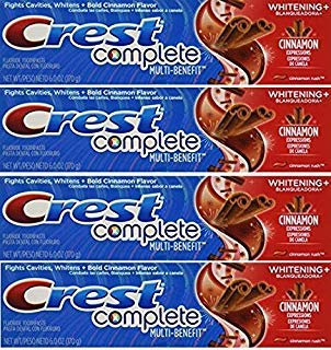 Crest Whitening Expressions Fluoride Anticavity Toothpaste, Cinnamon Rush, 6 oz (4 ()