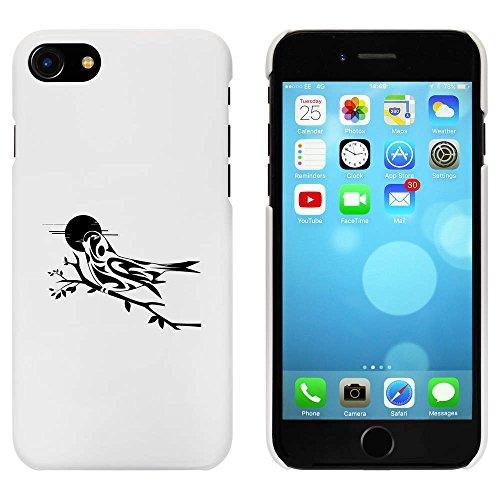 Blanc 'Comme un oiseau sur Branche' étui / housse pour iPhone 7 (MC00060588)
