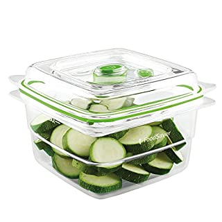 FoodSaver, Clear Vacuum Sealed Fresh Container, 5 Cup