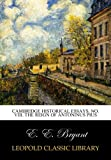 Cambridge historical essays. No. VIII. The reign of Antoninus Pius