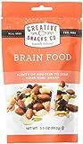 Creative Snacks, Brain Food Snack Bag, 3.5 oz. Pack of 6
