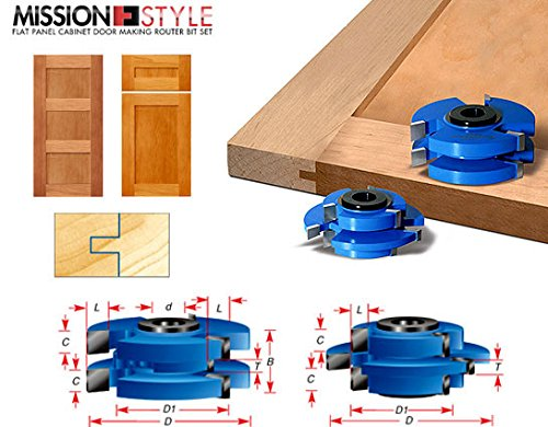 Fresh Cabinet Door Stile and Rail Cutters
