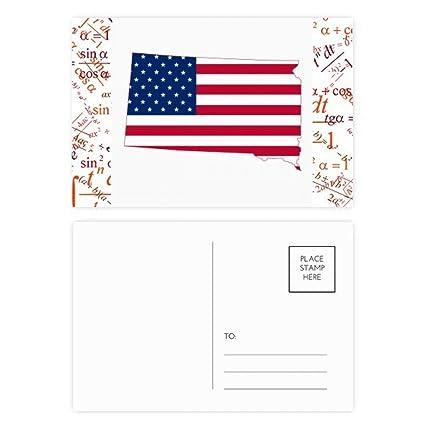 DIYthinker Dakota del Sur Eeuu Estrellas bandera de las ...