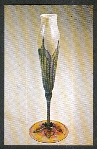 Favrile Vase (Tiffany Favrile Glass Floriform Vase Morse Rollins College FL postcard)
