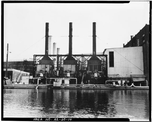Photo: Crosscut Steam Plant,Tempe,Maricopa County,Arizona,AZ,HABS,Mill - Mills Tempe Az Arizona