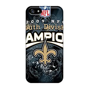 Best Hard Phone Case For Iphone 5/5s With Provide Private Custom High-definition New Orleans Saints Pictures InesWeldon