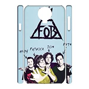 ZK-SXH - Fall out boy Diy 3D Cell Phone Case for SamSung Galaxy S4 I9500, Fall out boy Personalized 3D Cover Case
