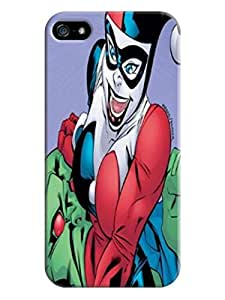 Durable fashionable Cool Harley Quinn TPU Phone Protection Case/cover Designed for iphone 5/5s by mcsharks