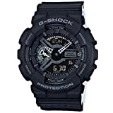 Casio G-Shock GA110LP-1A - Military Perf Band - Black / One Size