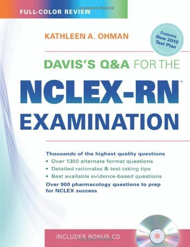 Davis's Q&A for the NCLEX-RN Examination by Ohman EdD MS CCRN RN, Kathleen A. (March 23, 2010) Paperback 1