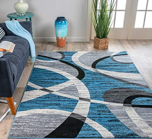 (Rugshop Shapes Contemporary Modern Area Rug, 7'10