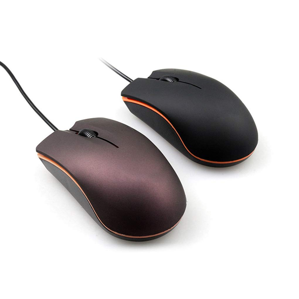 Jiasijieke USB 2.0 Wired Mini Cute Gaming Mouse Office Desktop Optical Computer Laptop Anti-Slip Mice