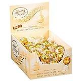 Lindt LINDOR White Chocolate Truffles, White