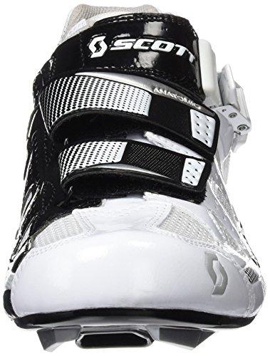 Scott road pro chaussures de vélo blanc/noir 2012