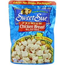 Sweet Sue Chicken Breast, 7-Ounce Pouches (Pack of 12)
