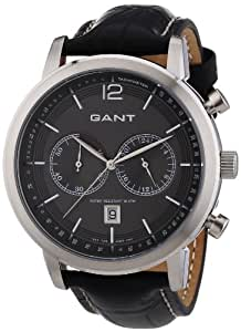 GANT W10941 - Reloj de pulsera hombre, piel, color negro