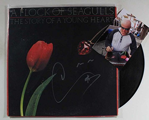 Mike Score of A Flock of Seagulls Signed Autographed