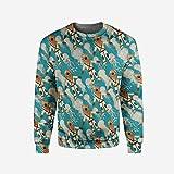 Men's Crewneck I Love You Pullover Sweater
