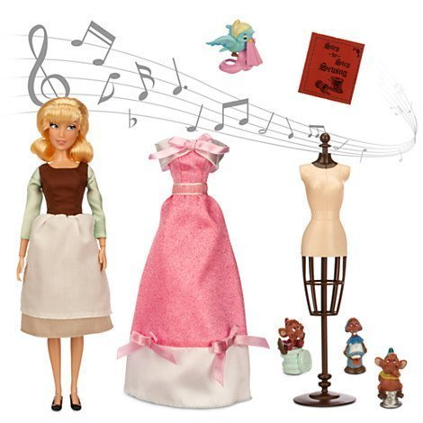 Cinderella Deluxe Singing Doll Set - 11'' by Disney