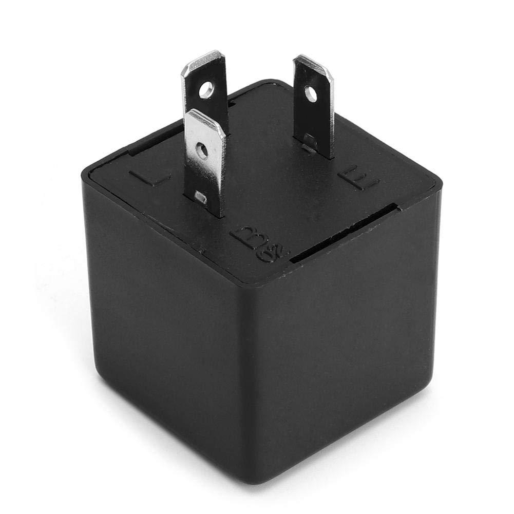 Gorgeri 3-Pin LED Luz de rel/é intermitente del coche Se/ñal de giro Hyper Flash N/úmero de OE 3CF13
