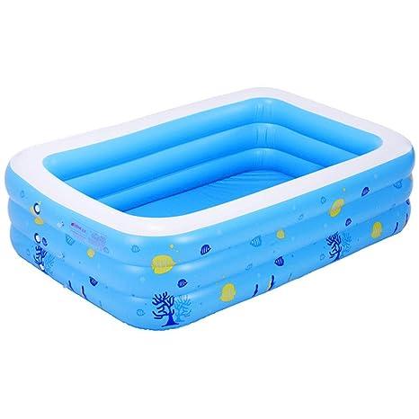Bañera inflable grande para el hogar, gruesa piscina portátil SPA ...