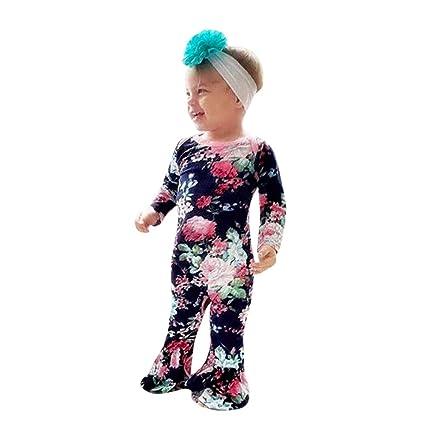 Chandal Bebe Disfraces Halloween Bebe Ropa Para Niños Recién Nacidos Bebés Niñas Manga Larga Estampado Floral